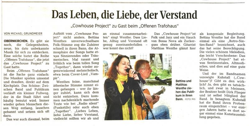 Cowhouse Project Obernkirchen Trafohaus Gig SZLZ article